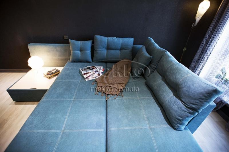 Кутовий диван з поворотним механізмом (Mercury) Меркурій ф-ка Мекко (Ортопедичний) - 3000*2150мм  Борзна-3
