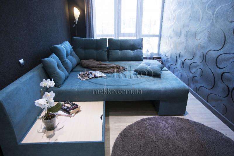 Кутовий диван з поворотним механізмом (Mercury) Меркурій ф-ка Мекко (Ортопедичний) - 3000*2150мм  Борзна-4