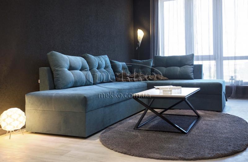 Кутовий диван з поворотним механізмом (Mercury) Меркурій ф-ка Мекко (Ортопедичний) - 3000*2150мм  Борзна