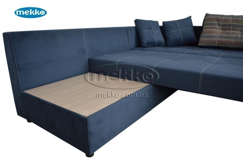 Кутовий диван з поворотним механізмом (Mercury) Меркурій ф-ка Мекко (Ортопедичний) - 3000*2150мм  Борзна-17