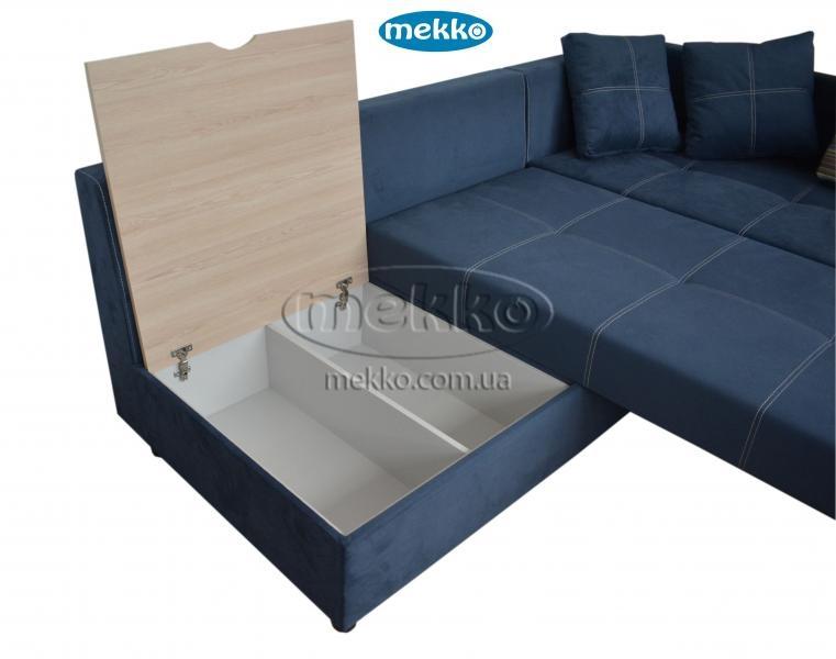 Кутовий диван з поворотним механізмом (Mercury) Меркурій ф-ка Мекко (Ортопедичний) - 3000*2150мм  Борзна-18