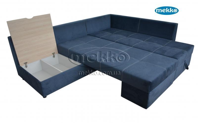 Кутовий диван з поворотним механізмом (Mercury) Меркурій ф-ка Мекко (Ортопедичний) - 3000*2150мм  Борзна-19