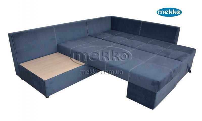 Кутовий диван з поворотним механізмом (Mercury) Меркурій ф-ка Мекко (Ортопедичний) - 3000*2150мм  Борзна-16