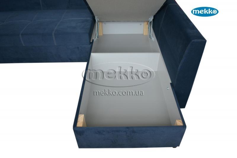 Кутовий диван з поворотним механізмом (Mercury) Меркурій ф-ка Мекко (Ортопедичний) - 3000*2150мм  Борзна-20