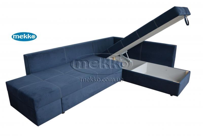 Кутовий диван з поворотним механізмом (Mercury) Меркурій ф-ка Мекко (Ортопедичний) - 3000*2150мм  Борзна-14