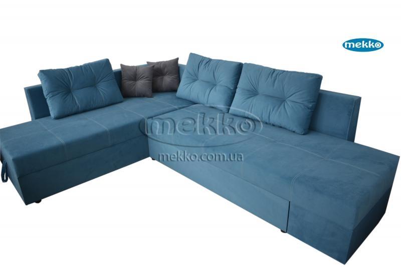 Кутовий диван з поворотним механізмом (Mercury) Меркурій ф-ка Мекко (Ортопедичний) - 3000*2150мм  Борзна-10