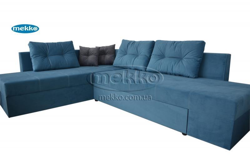 Кутовий диван з поворотним механізмом (Mercury) Меркурій ф-ка Мекко (Ортопедичний) - 3000*2150мм  Борзна-11
