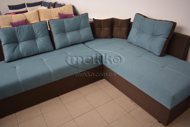 Кутовий диван з поворотним механізмом (Mercury) Меркурій ф-ка Мекко (Ортопедичний) - 3000*2150мм  Борзна-8