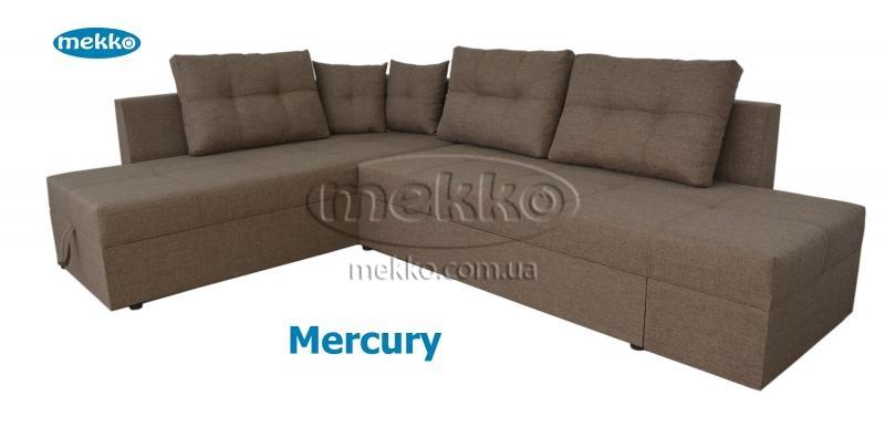 Кутовий диван з поворотним механізмом (Mercury) Меркурій ф-ка Мекко (Ортопедичний) - 3000*2150мм  Борзна-12